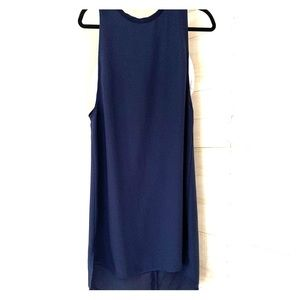 Navy and white Trouve dress